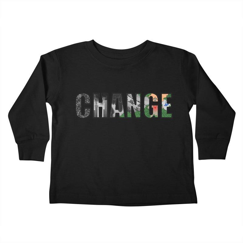 Change Kids Toddler Longsleeve T-Shirt by ariesnamarie's Artist Shop