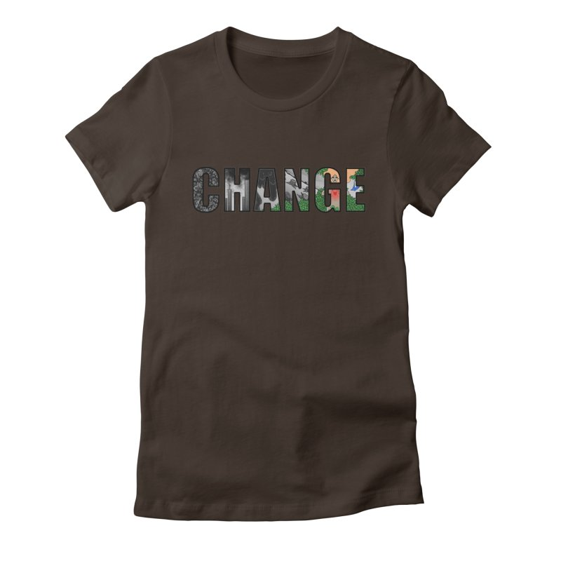 Change Women's Fitted T-Shirt by ariesnamarie's Artist Shop