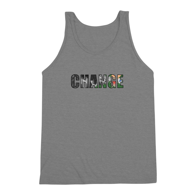 Change Men's Triblend Tank by ariesnamarie's Artist Shop