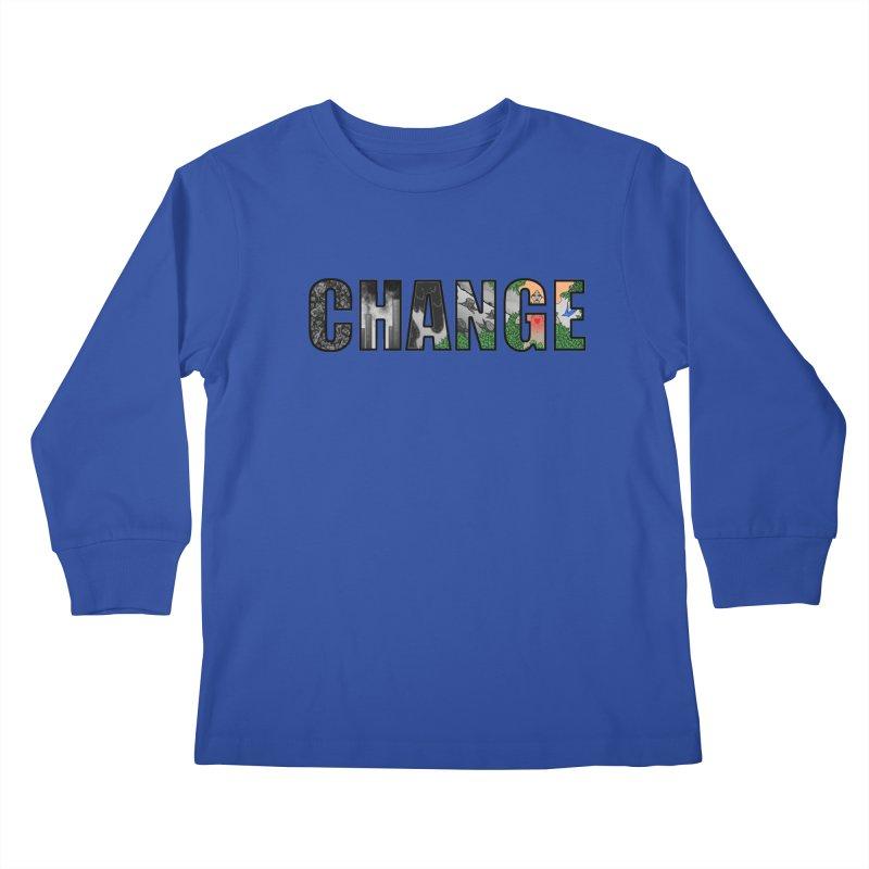 Change Kids Longsleeve T-Shirt by ariesnamarie's Artist Shop