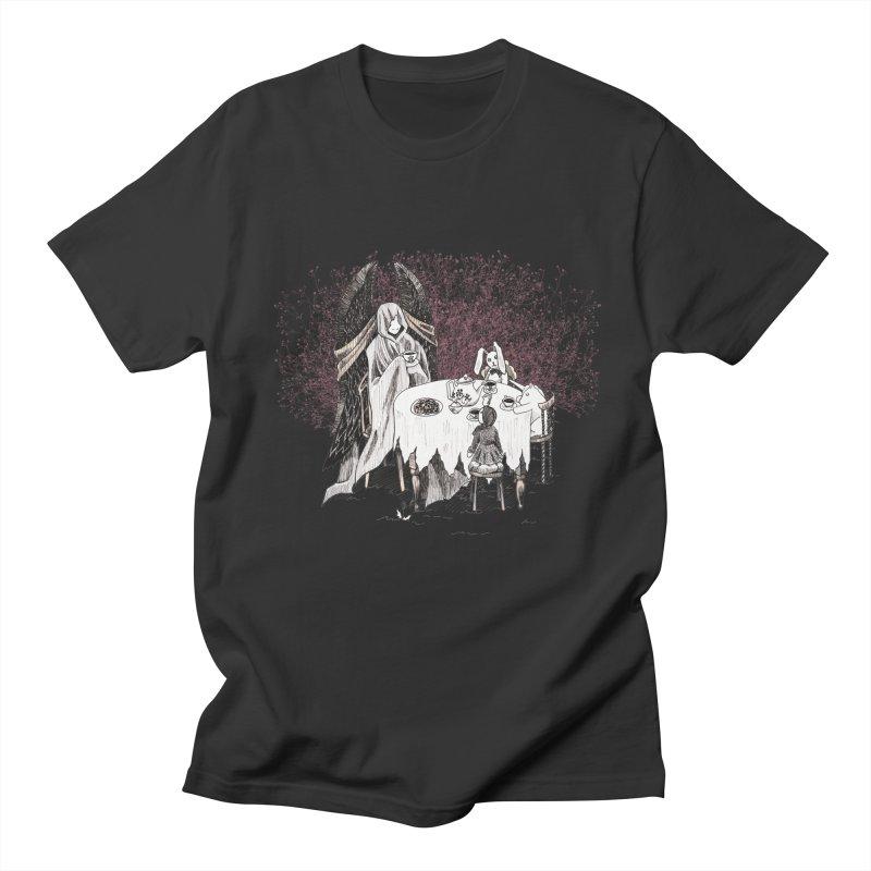Tea Time Men's T-Shirt by ariesnamarie's Artist Shop