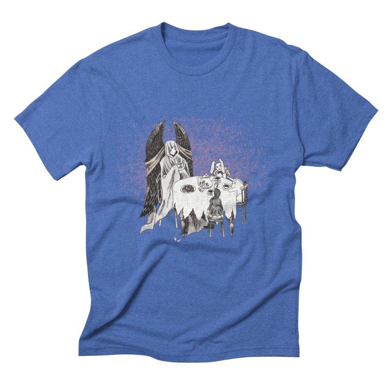 Tea Time Men's Triblend T-Shirt by ariesnamarie's Artist Shop