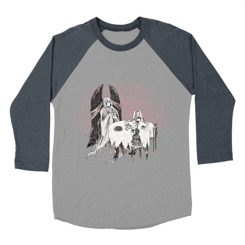 Tea Time Women's Baseball Triblend T-Shirt by ariesnamarie's Artist Shop