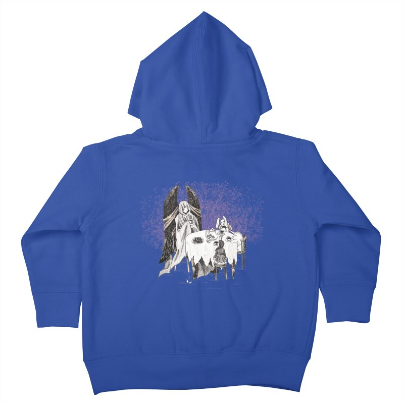 Tea Time Kids Toddler Zip-Up Hoody by ariesnamarie's Artist Shop