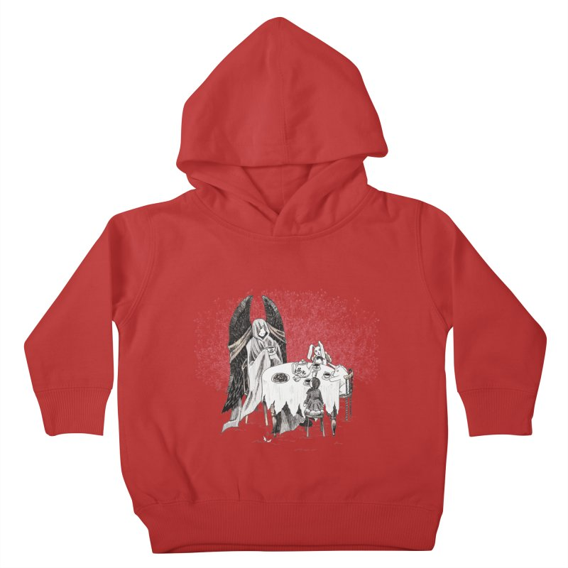 Tea Time Kids Toddler Pullover Hoody by ariesnamarie's Artist Shop