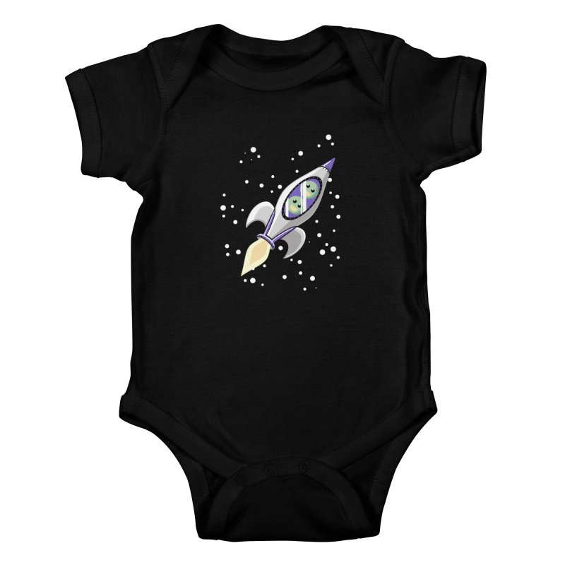 Two Peas in a Space Pod Kids Baby Bodysuit by ariesnamarie's Artist Shop
