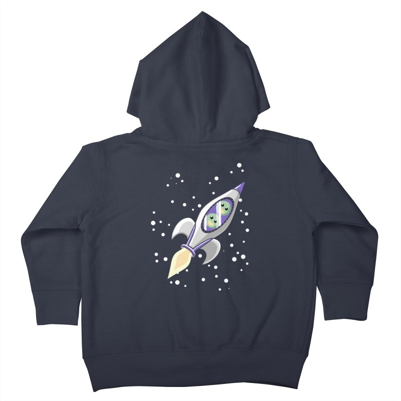 Two Peas in a Space Pod Kids Toddler Zip-Up Hoody by ariesnamarie's Artist Shop