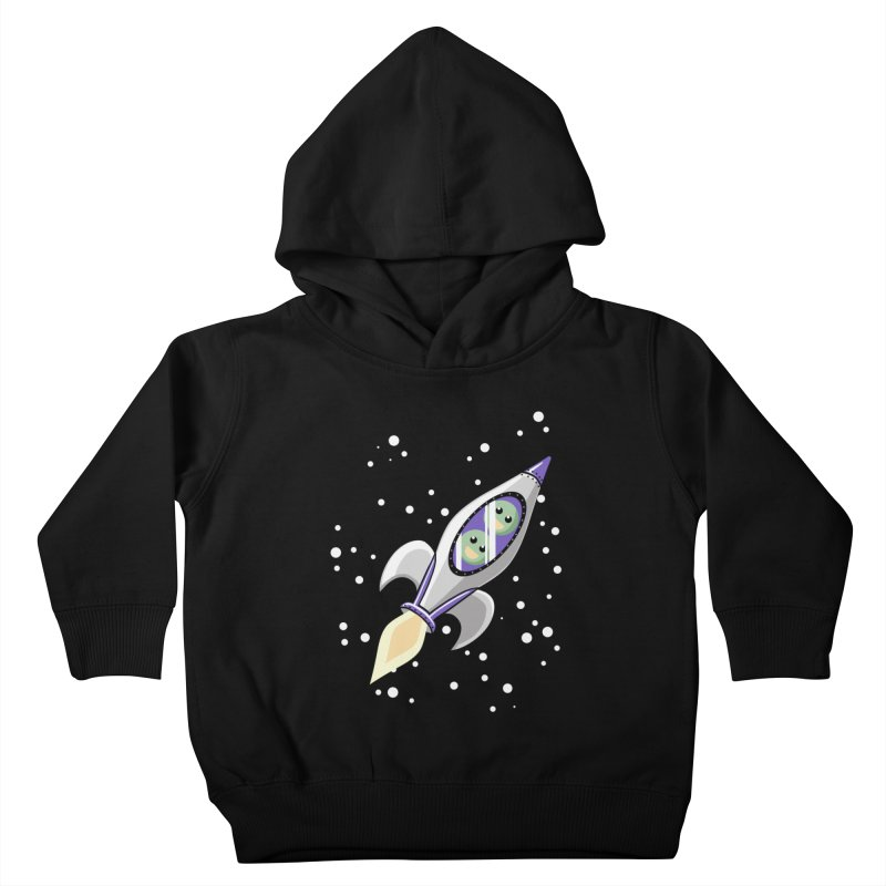 Two Peas in a Space Pod Kids Toddler Pullover Hoody by ariesnamarie's Artist Shop