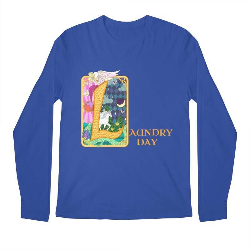 Mundane Fairytale Men's Longsleeve T-Shirt by ariesnamarie's Artist Shop