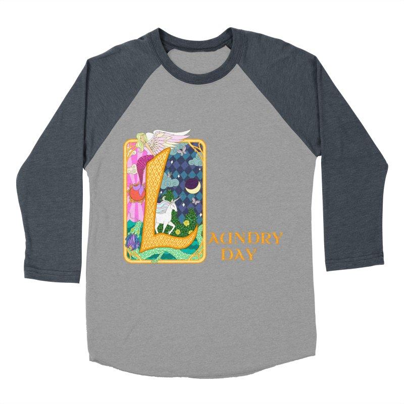 Mundane Fairytale Men's Baseball Triblend T-Shirt by ariesnamarie's Artist Shop