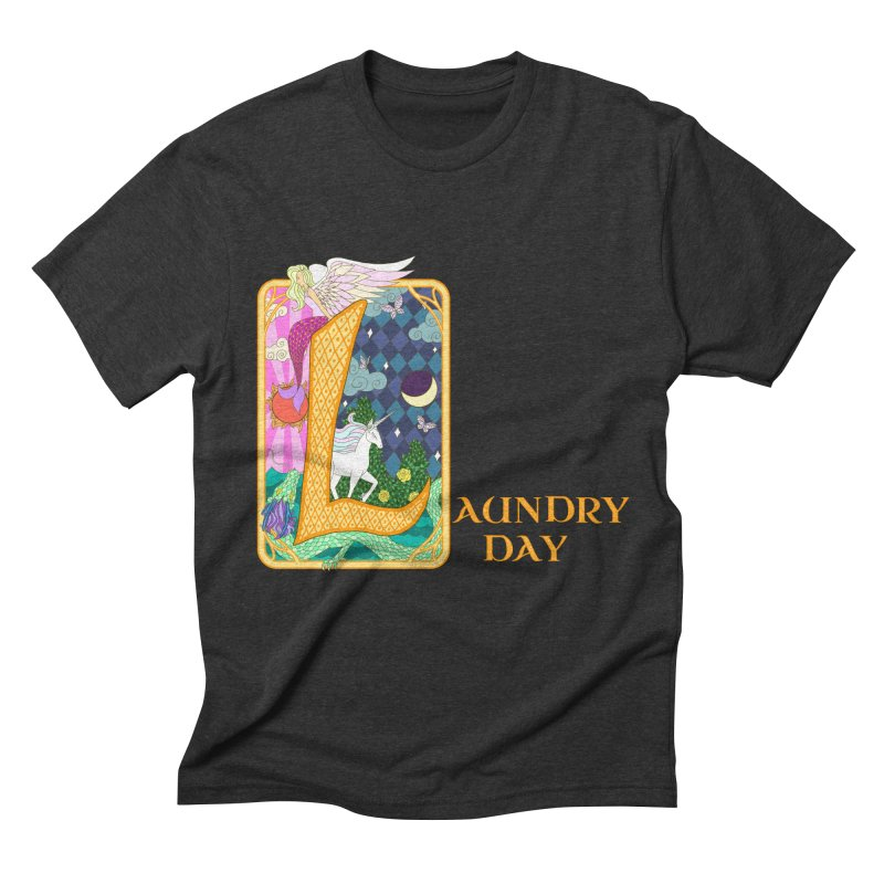 Mundane Fairytale Men's Triblend T-shirt by ariesnamarie's Artist Shop