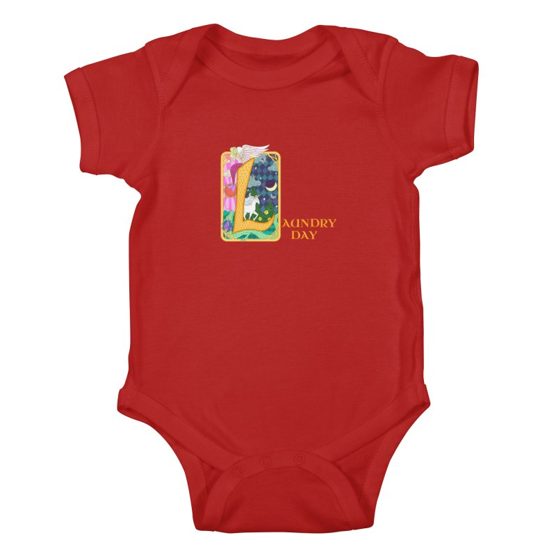 Mundane Fairytale Kids Baby Bodysuit by ariesnamarie's Artist Shop