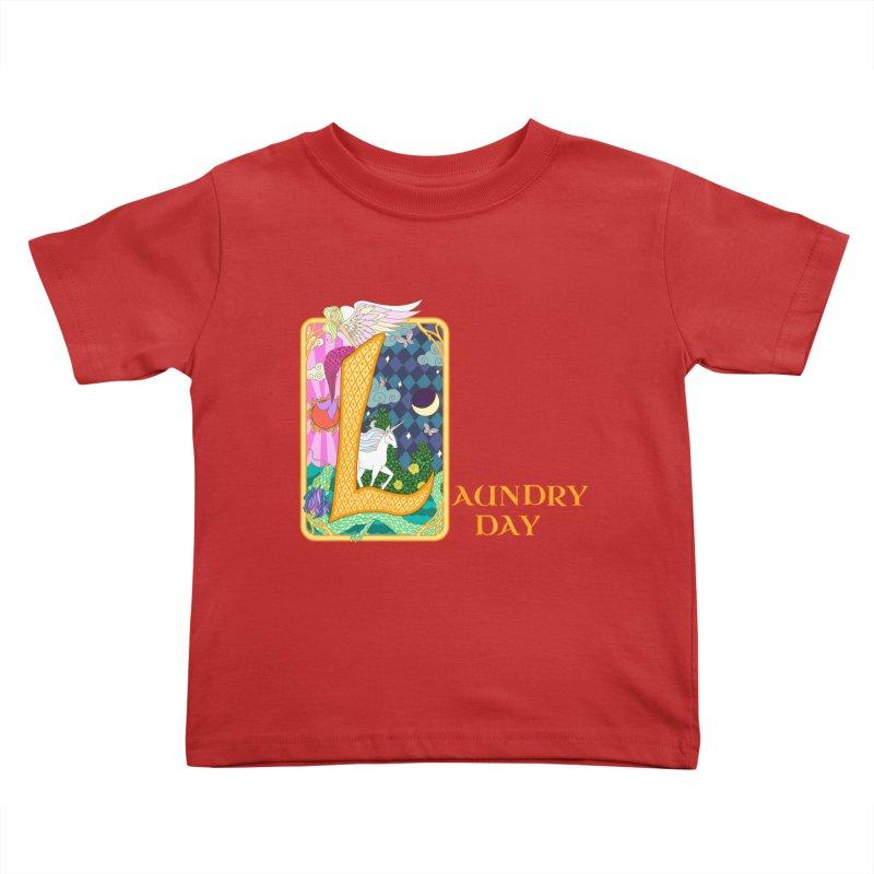 Mundane Fairytale Kids Toddler T-Shirt by ariesnamarie's Artist Shop