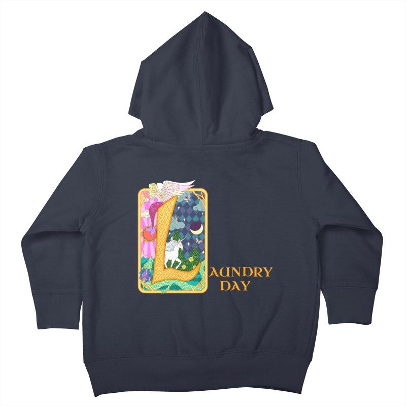 Mundane Fairytale Kids Toddler Zip-Up Hoody by ariesnamarie's Artist Shop