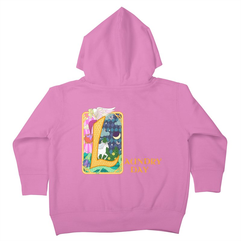 Mundane Fairytale Kids Toddler Zip-Up Hoody by ariesnamarie's Artist Shop