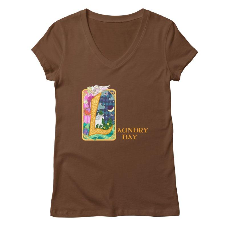 Mundane Fairytale Women's V-Neck by ariesnamarie's Artist Shop