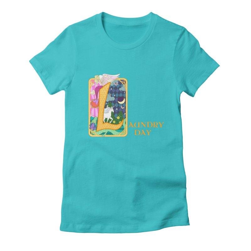 Mundane Fairytale Women's Fitted T-Shirt by ariesnamarie's Artist Shop