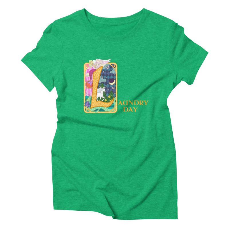 Mundane Fairytale Women's Triblend T-Shirt by ariesnamarie's Artist Shop