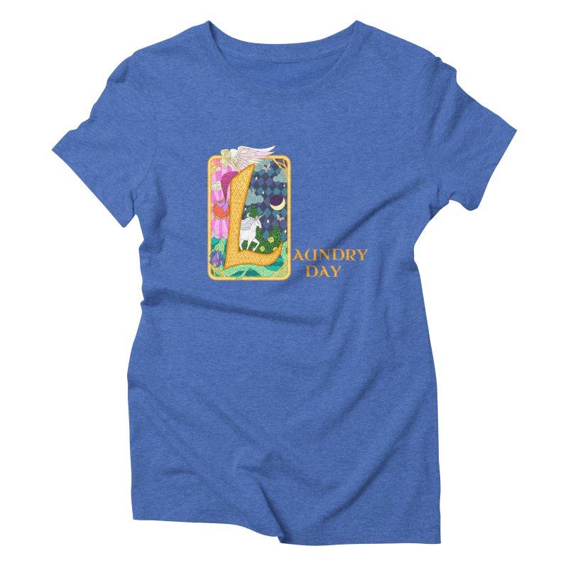 Mundane Fairytale Women's Triblend T-shirt by ariesnamarie's Artist Shop