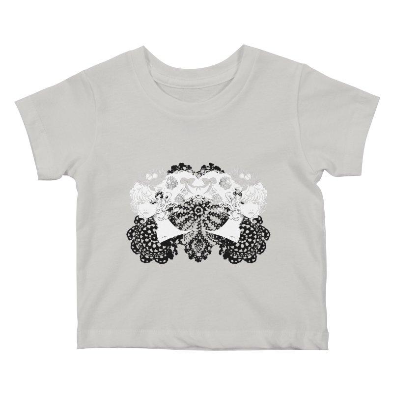 Nesting Kids Baby T-Shirt by ariesnamarie's Artist Shop