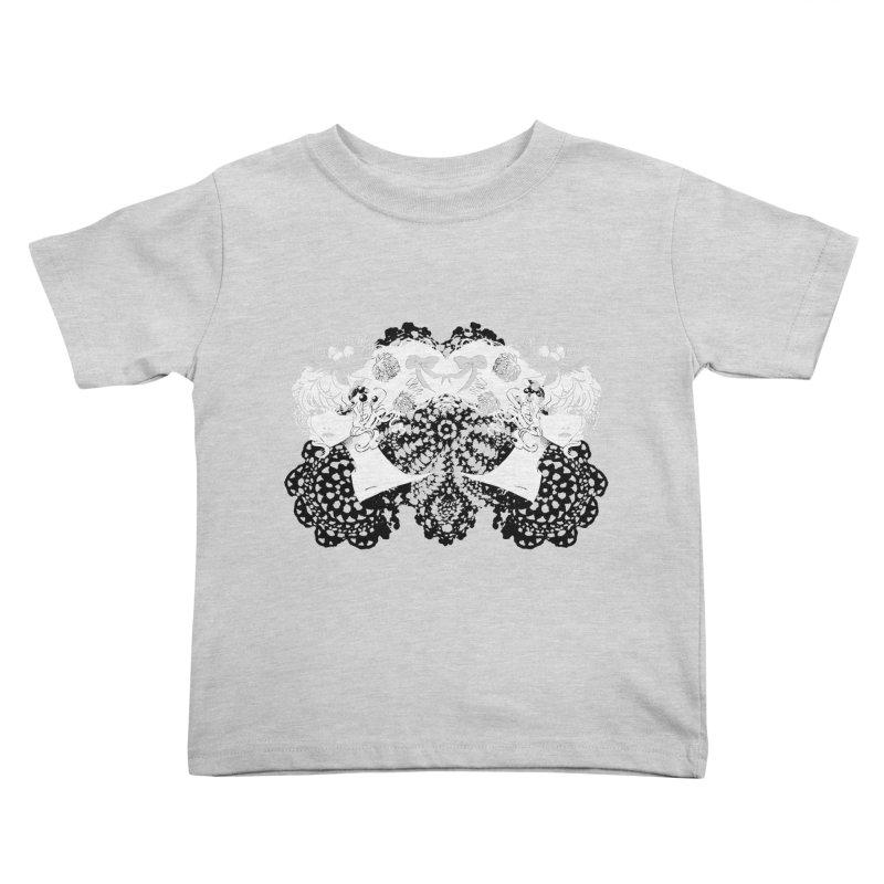 Nesting Kids Toddler T-Shirt by ariesnamarie's Artist Shop