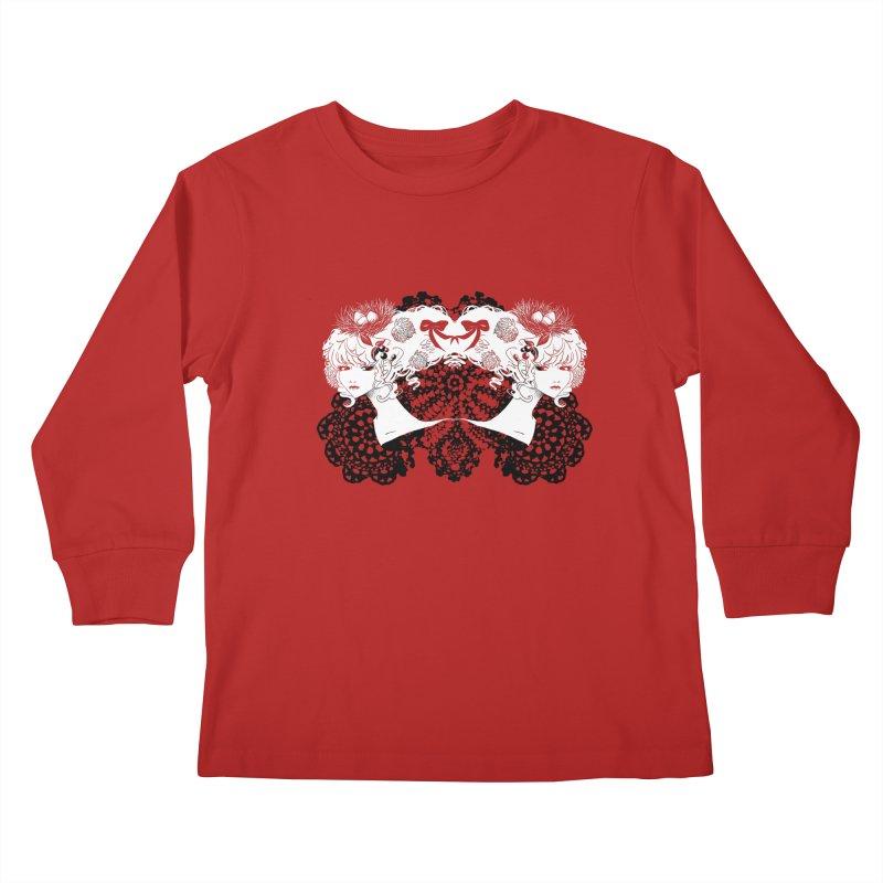 Nesting Kids Longsleeve T-Shirt by ariesnamarie's Artist Shop