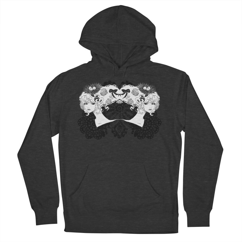Nesting Men's French Terry Pullover Hoody by ariesnamarie's Artist Shop