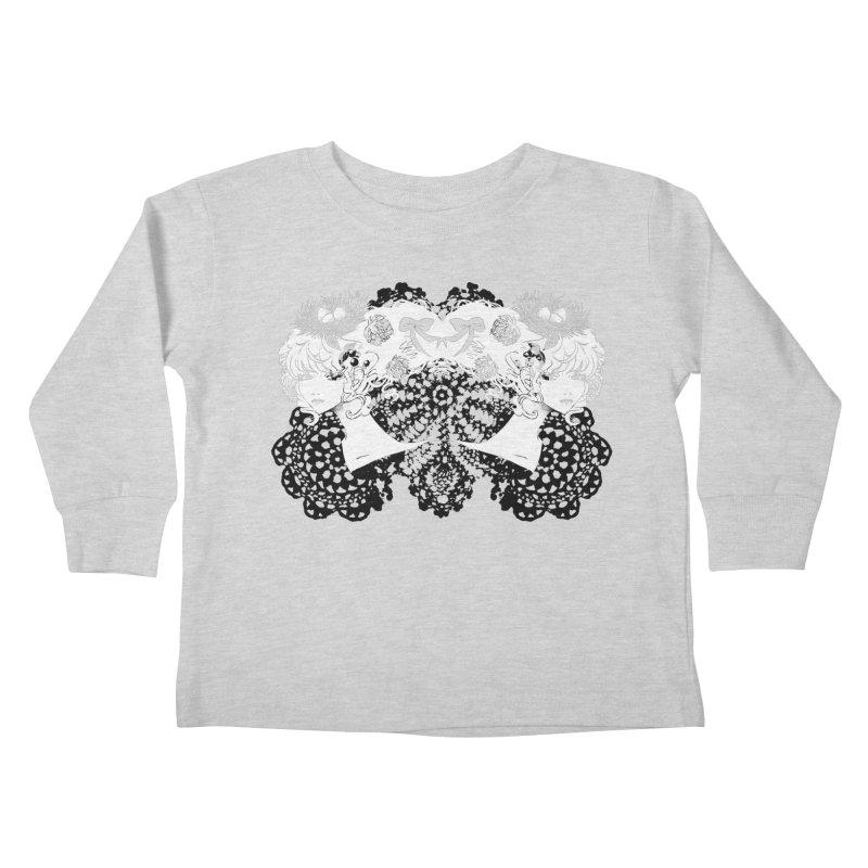 Nesting Kids Toddler Longsleeve T-Shirt by ariesnamarie's Artist Shop