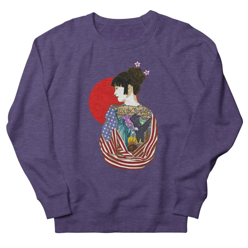 The Illustrated Woman Women's Sweatshirt by ariesnamarie's Artist Shop