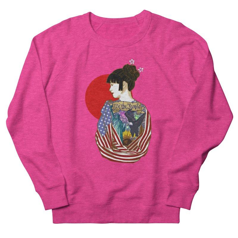 The Illustrated Woman Women's Sweatshirt by ariesnamarie's Artist Shop