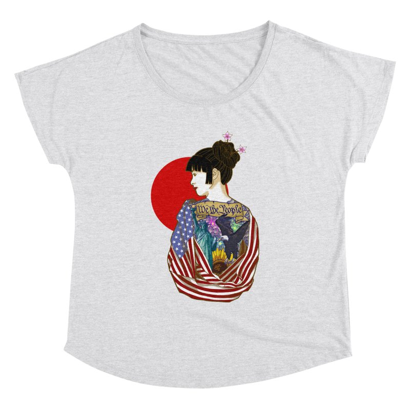 The Illustrated Woman Women's Dolman by ariesnamarie's Artist Shop