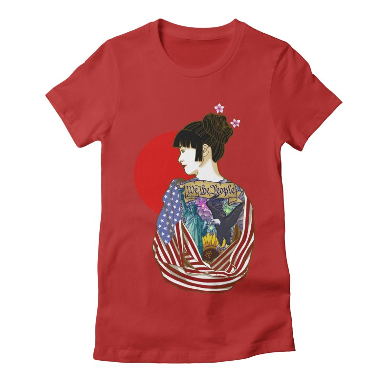 The Illustrated Woman   by ariesnamarie's Artist Shop