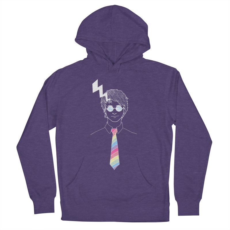 Lightning Has Struck Men's French Terry Pullover Hoody by ariesnamarie's Artist Shop