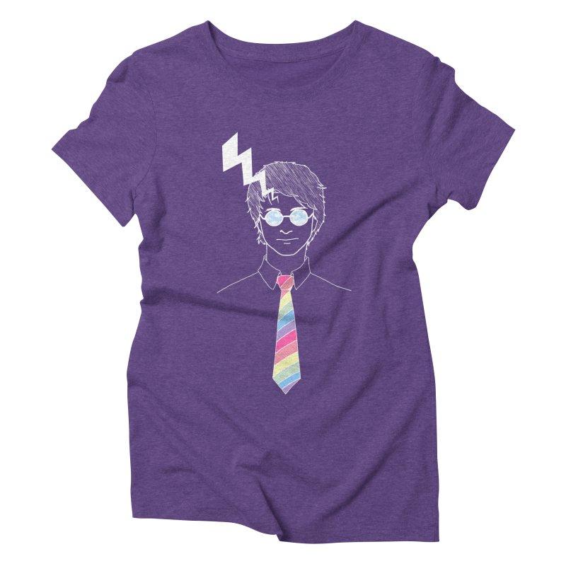 Lightning Has Struck Women's Triblend T-Shirt by ariesnamarie's Artist Shop