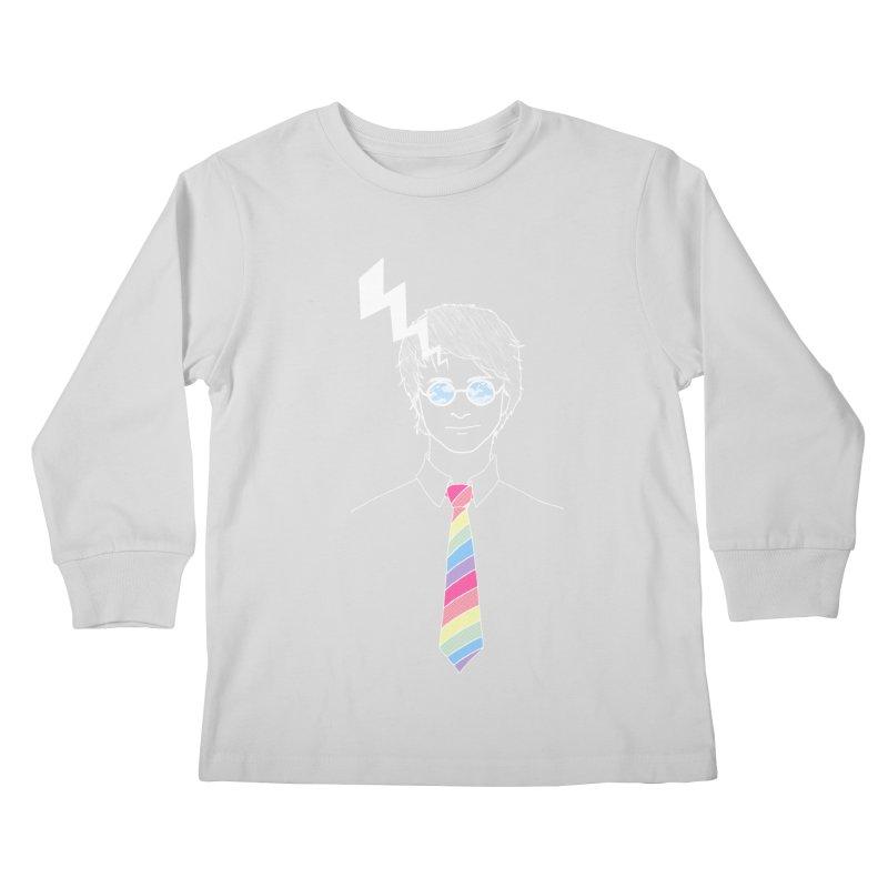 Lightning Has Struck Kids Longsleeve T-Shirt by ariesnamarie's Artist Shop