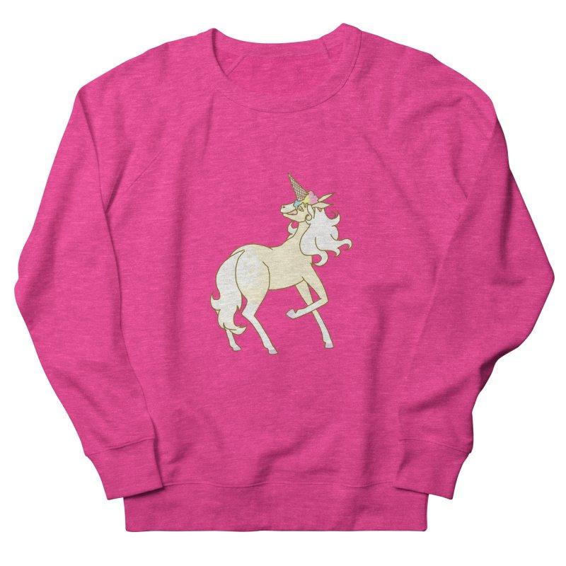 Ice Cream Dream Women's French Terry Sweatshirt by ariesnamarie's Artist Shop