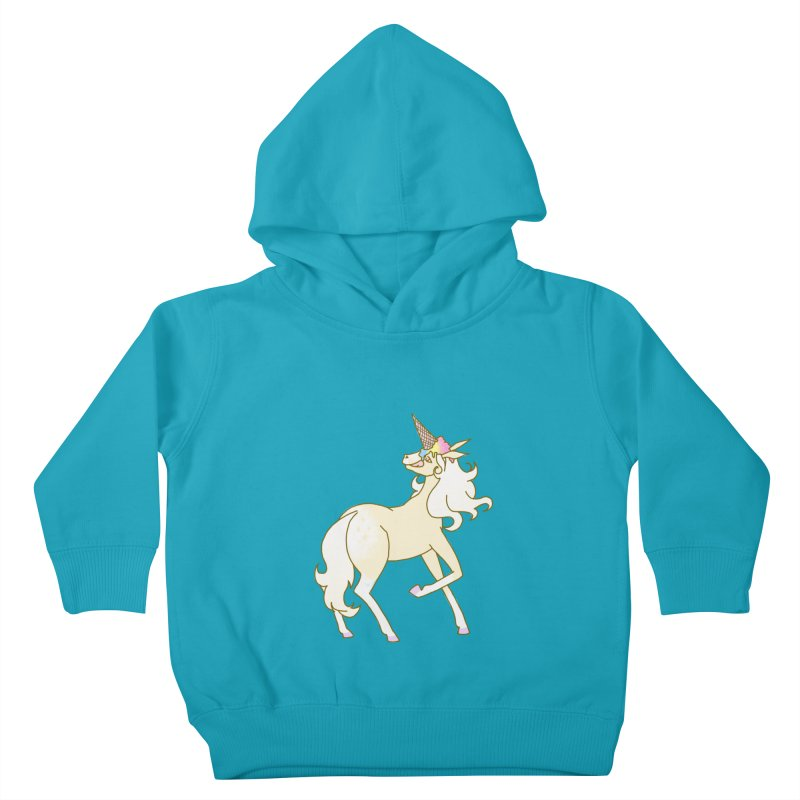 Ice Cream Dream Kids Toddler Pullover Hoody by ariesnamarie's Artist Shop