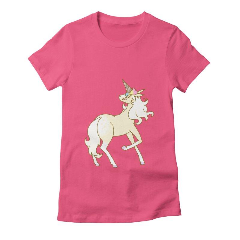 Ice Cream Dream Women's Fitted T-Shirt by ariesnamarie's Artist Shop