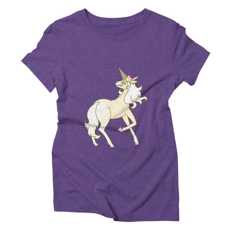 Ice Cream Dream Women's Triblend T-Shirt by ariesnamarie's Artist Shop