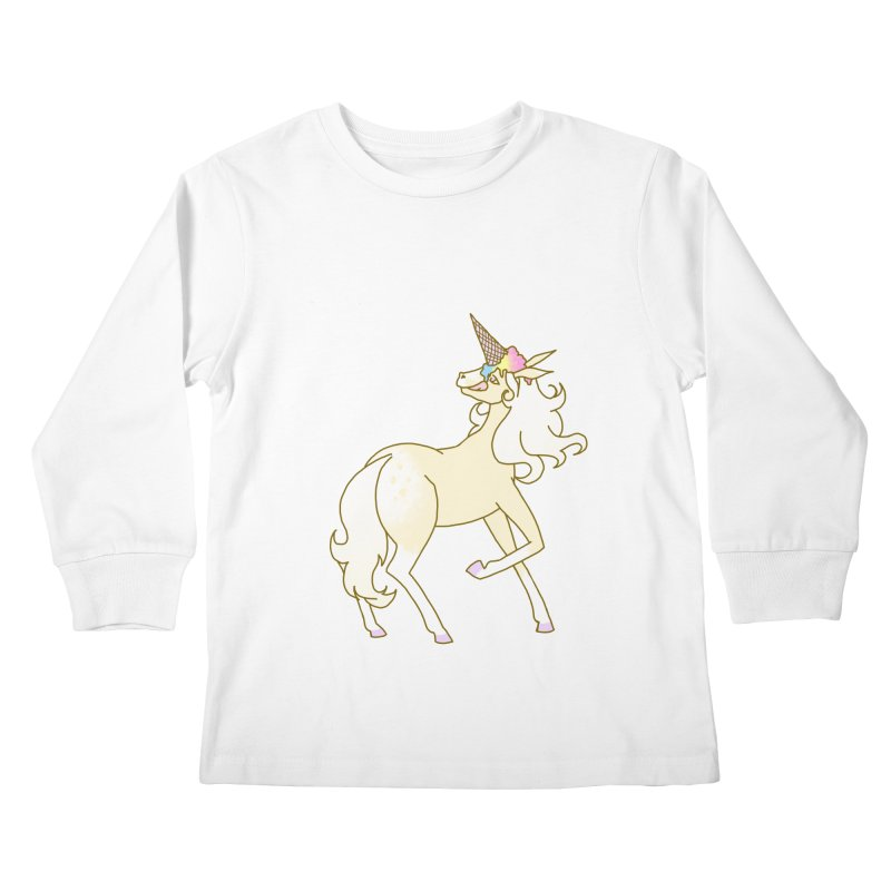Ice Cream Dream Kids Longsleeve T-Shirt by ariesnamarie's Artist Shop