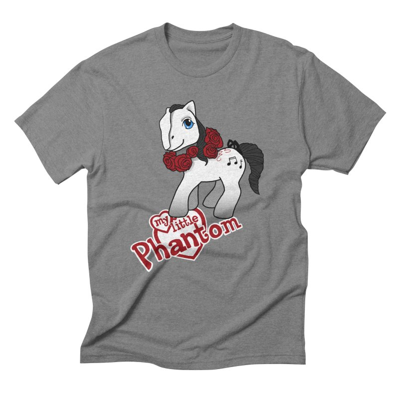 My Little Phantom Men's Triblend T-Shirt by ariesnamarie's Artist Shop