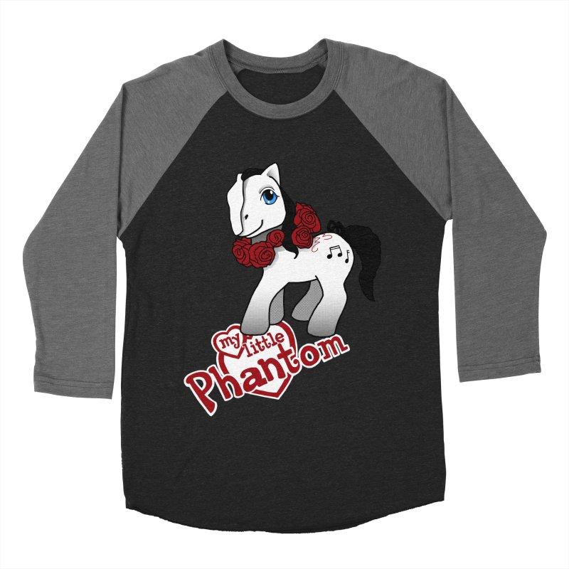 My Little Phantom Men's Baseball Triblend Longsleeve T-Shirt by ariesnamarie's Artist Shop