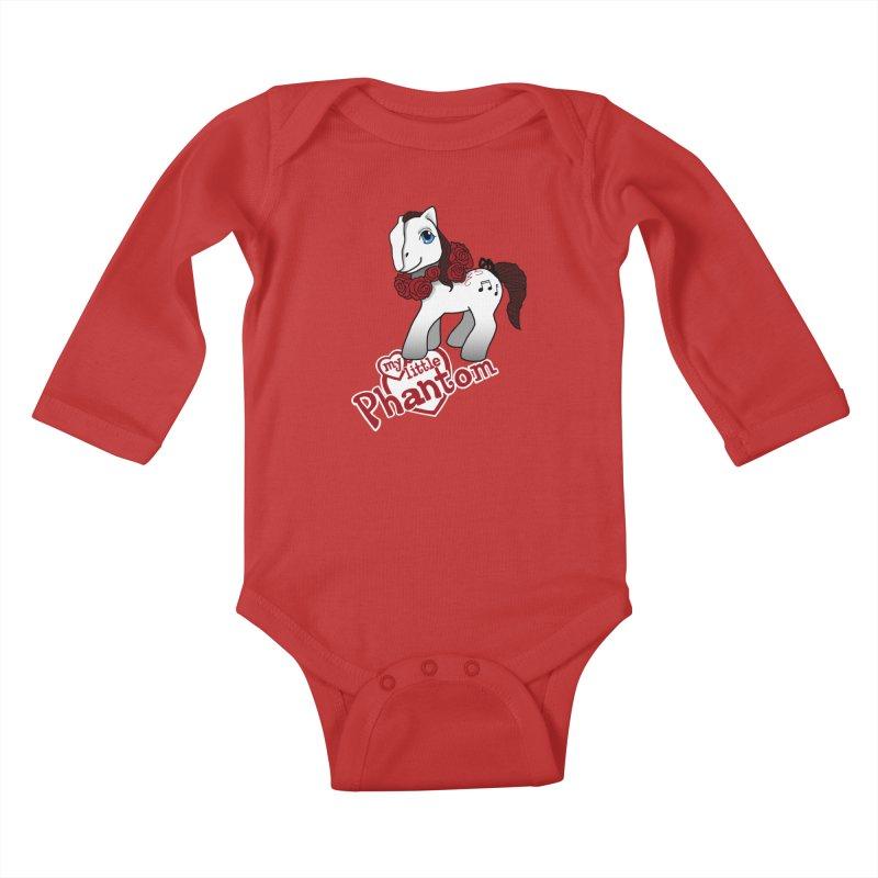 My Little Phantom Kids Baby Longsleeve Bodysuit by ariesnamarie's Artist Shop