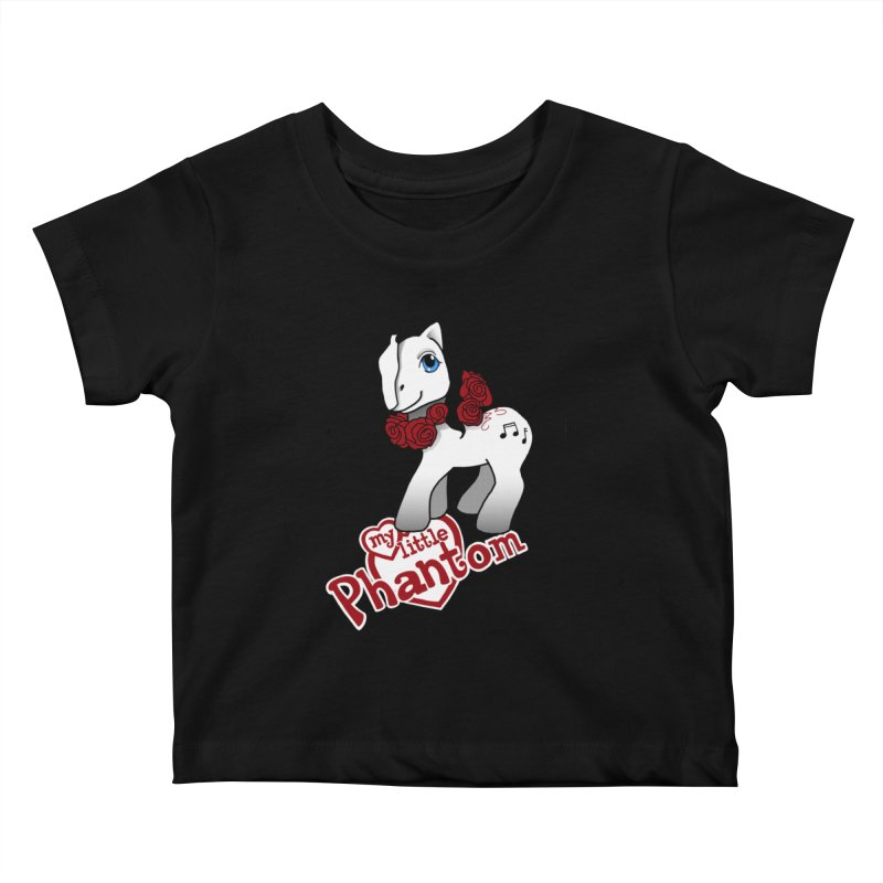 My Little Phantom Kids Baby T-Shirt by ariesnamarie's Artist Shop