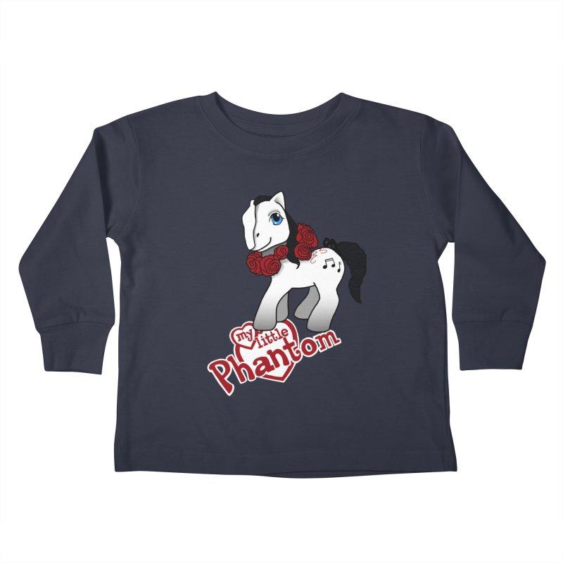 My Little Phantom Kids Toddler Longsleeve T-Shirt by ariesnamarie's Artist Shop