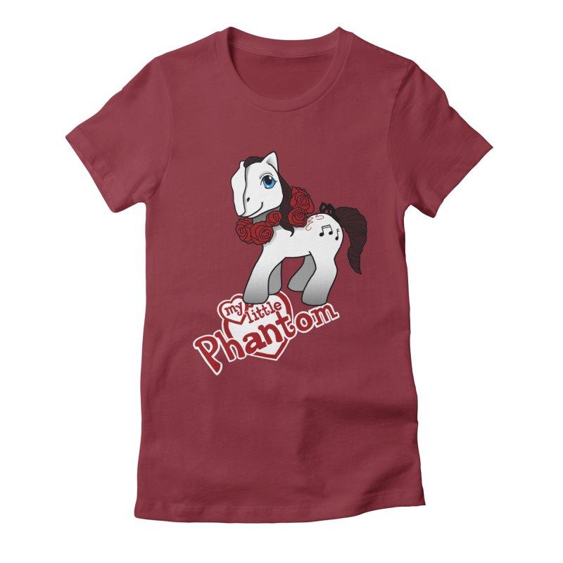 My Little Phantom Women's Fitted T-Shirt by ariesnamarie's Artist Shop