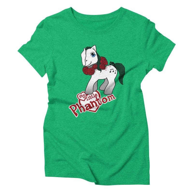 My Little Phantom Women's Triblend T-Shirt by ariesnamarie's Artist Shop