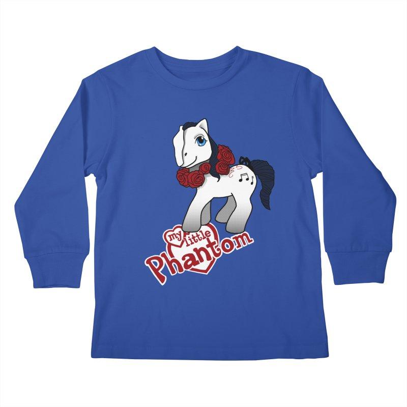 My Little Phantom Kids Longsleeve T-Shirt by ariesnamarie's Artist Shop