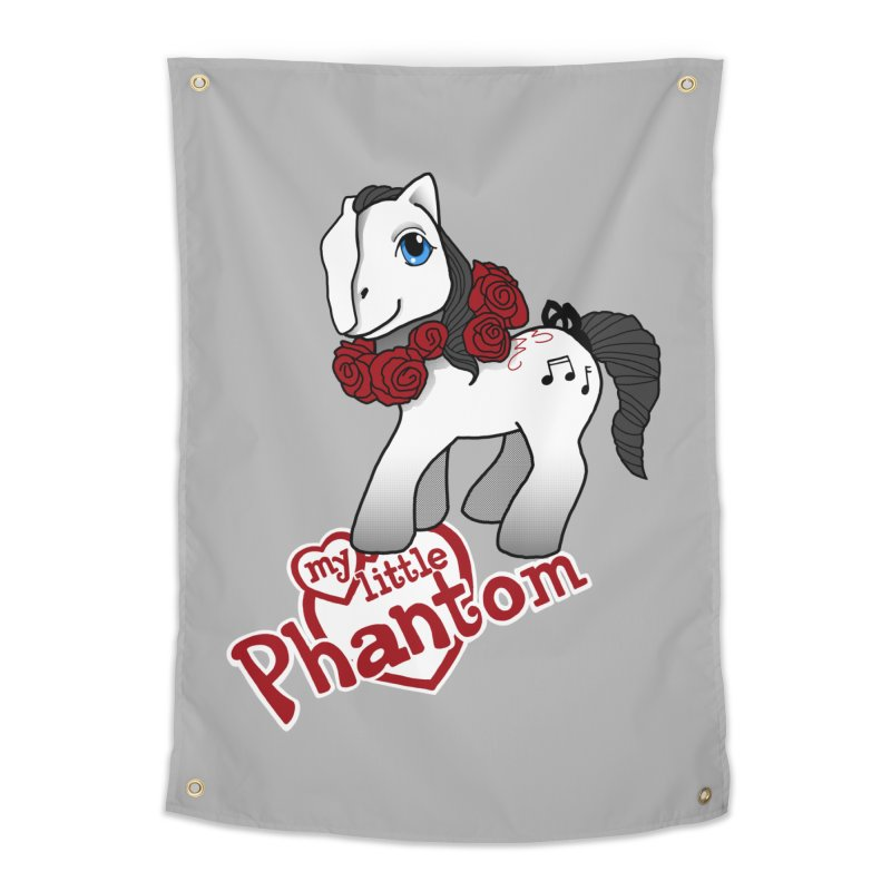 My Little Phantom Home Tapestry by ariesnamarie's Artist Shop