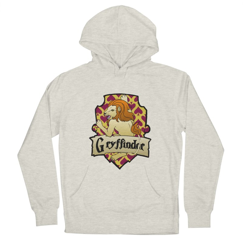 Courage House Crest Women's French Terry Pullover Hoody by ariesnamarie's Artist Shop